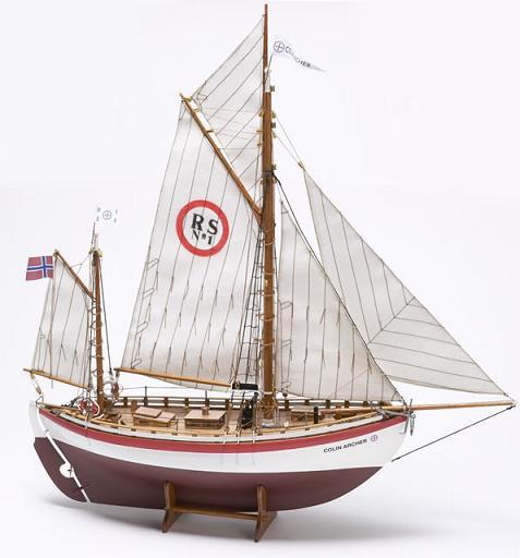 Billing Boats 1:40 Colin Archer Wooden Kitset image