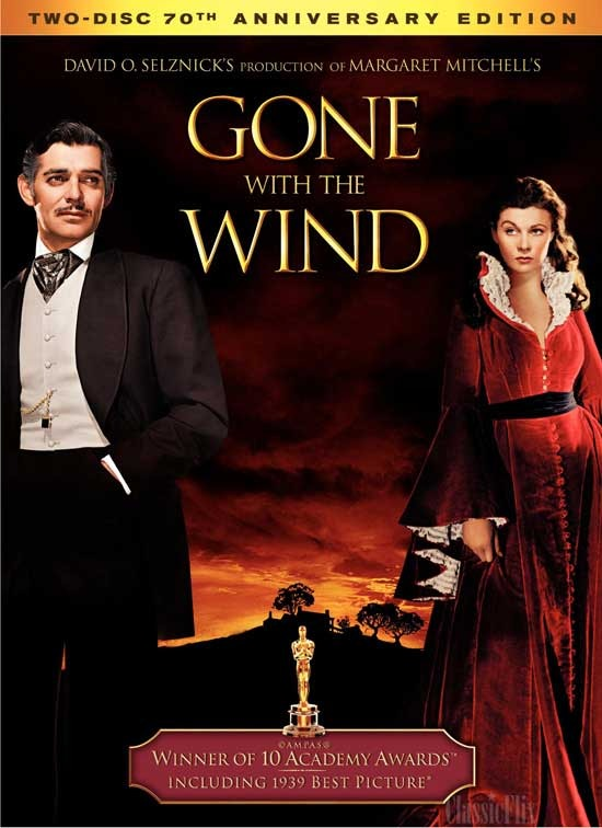Gone With The Wind - 70th Anniversary Edition on DVD