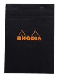 Bloc Rhodia Black A5 80 5x5 Graph Sheets