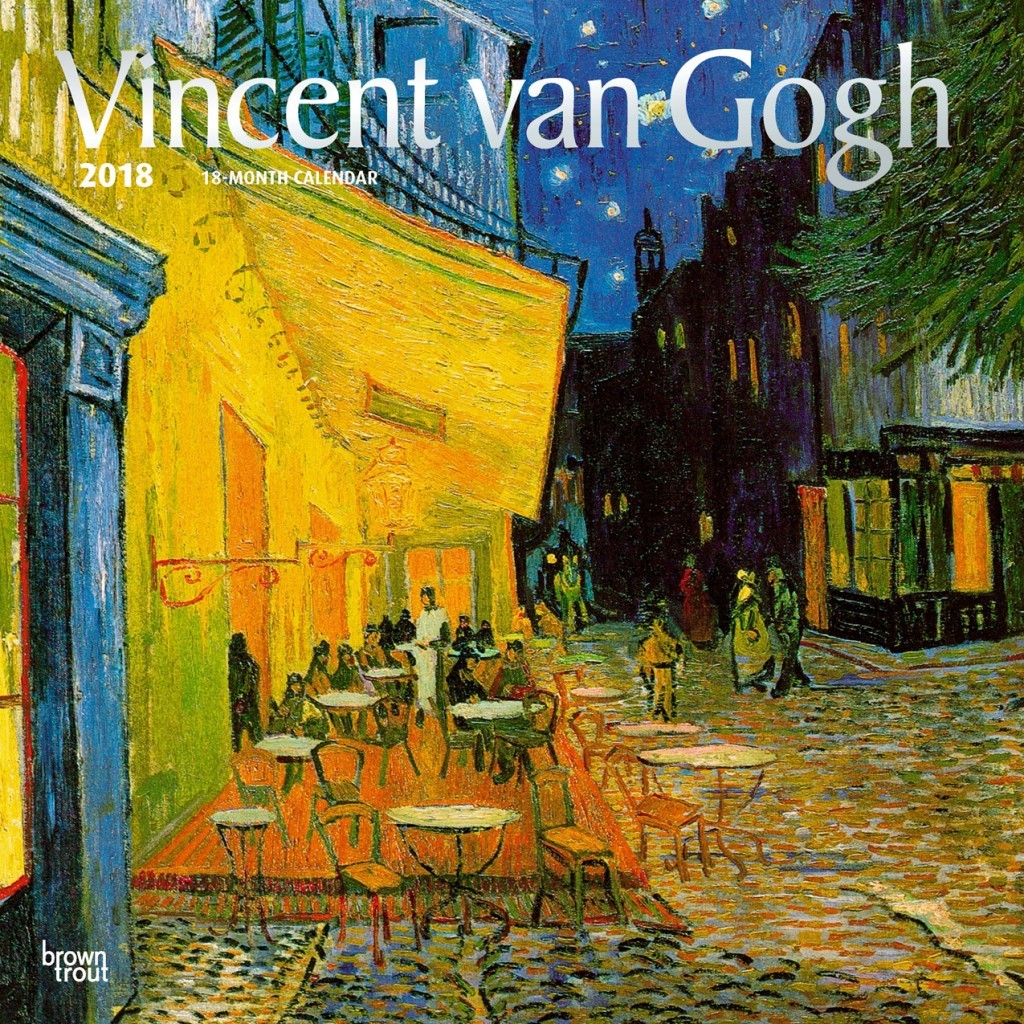 Buy Vincent Van Gogh 2018 Square Wall Calendar at Mighty Ape NZ