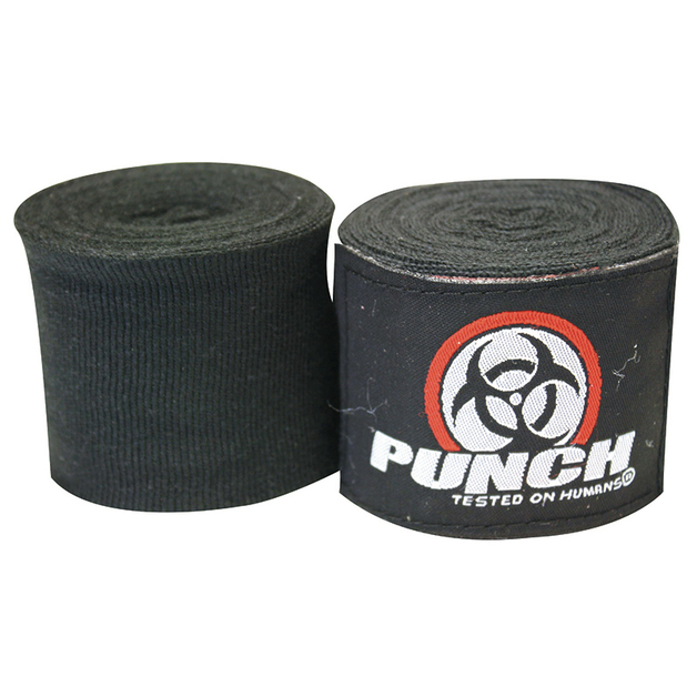 Punch: Urban Hand Wraps - 400cm (Black)