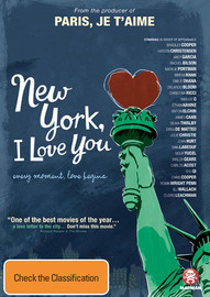 New York, I Love You on DVD