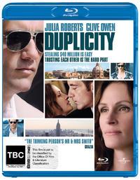 Duplicity on Blu-ray