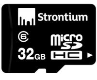 Strontium 32GB Micro SD Class 6 with Adaptor