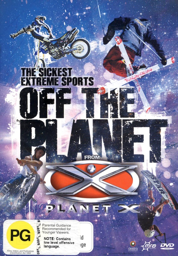 Planet X - Off The Planet on DVD image
