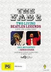 The Fab 2 - Two Living Beatles Legends: Live In Concert (2 Disc Set) on DVD