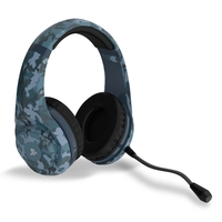 4Gamers PRO4-70 Wired Stereo Gaming Headset (Midnight Camo) for PS4