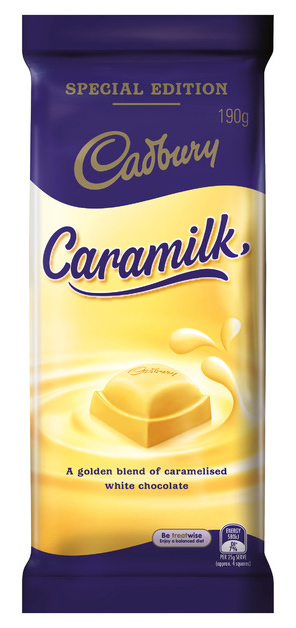 Cadbury: Caramilk Chocolate - (16 x 190g)