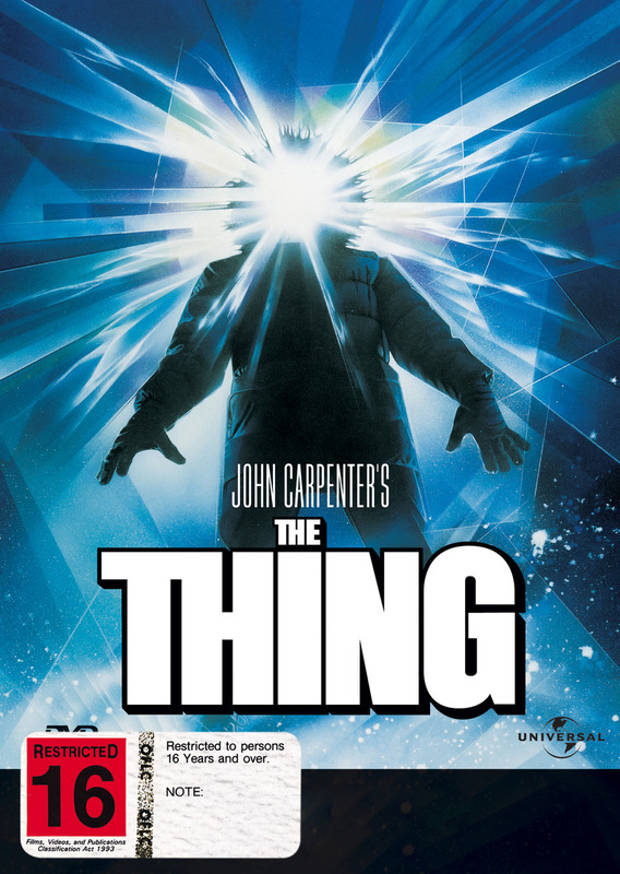 The Thing on DVD