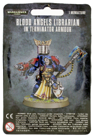 Warhammer 40,000 Blood Angels Terminator Librarian