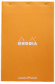 Bloc Rhodia DOT.Pad Orange 80sh 80g A4+ Matrix Dots 5mm