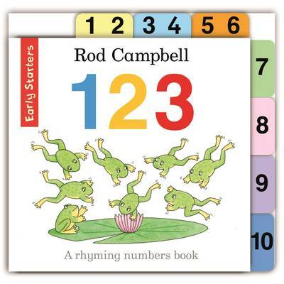 123 by Rod Campbell image