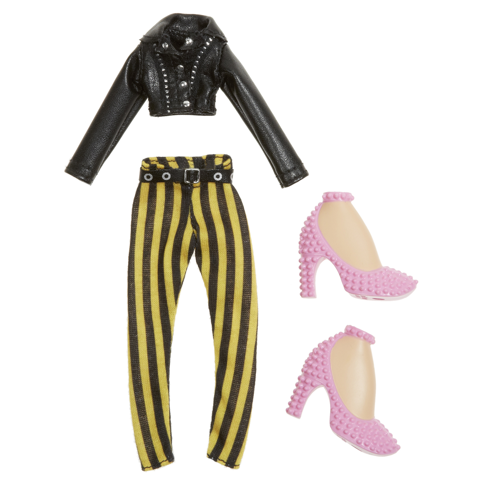 bratz fashion pack i love stripes toy at mighty ape nz. Black Bedroom Furniture Sets. Home Design Ideas