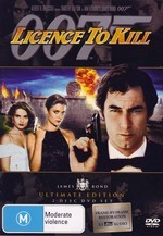 Licence To Kill (007) - James Bond Ultimate Edition (2 Disc Set) on DVD