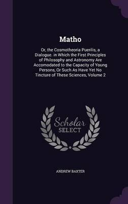 Matho by Andrew Baxter image