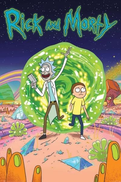 Rick And Morty Maxi Poster - Portal (635) image