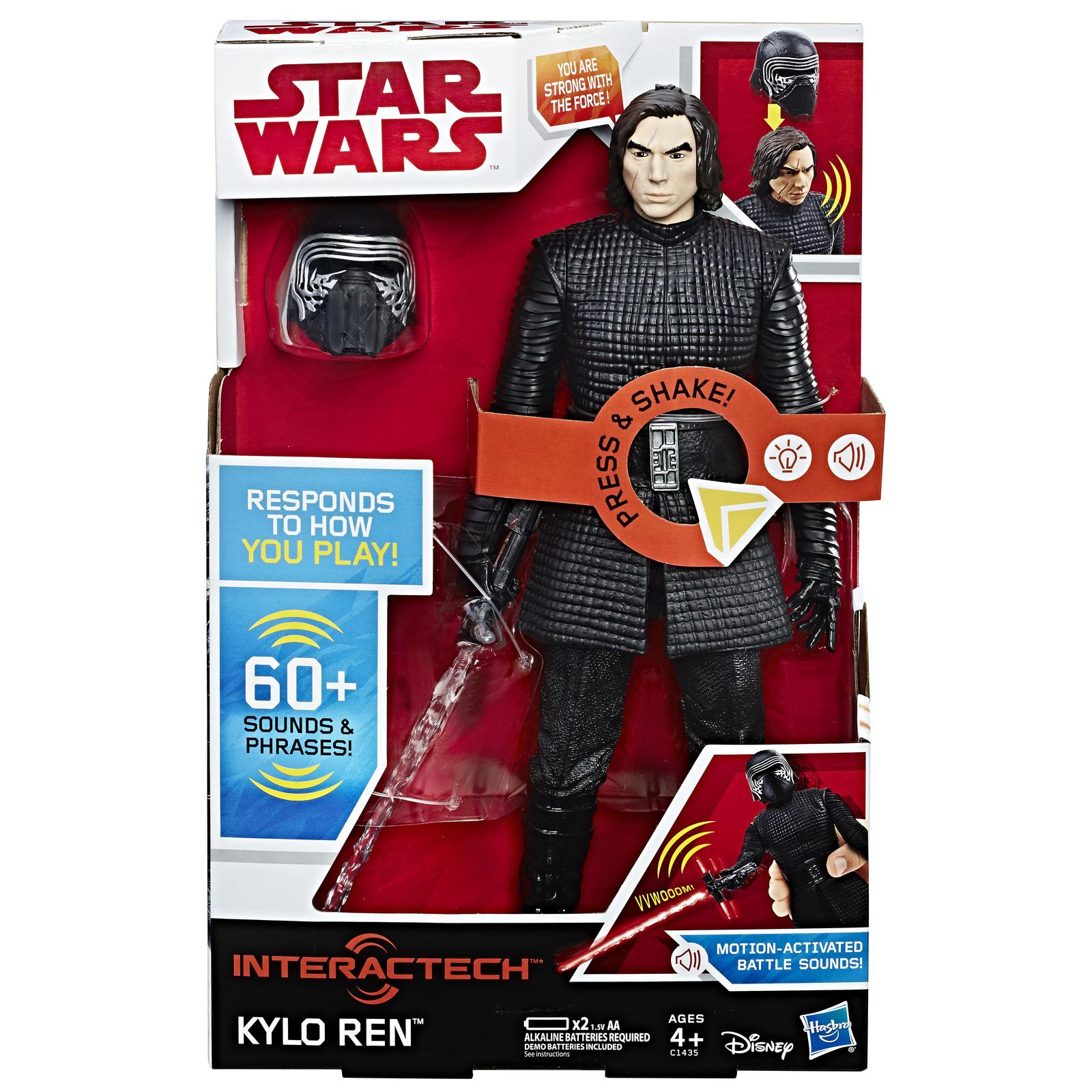 """Star Wars: Interactech 12"""" Figure - Kylo Ren image"""
