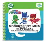 Leapstart: PJ Masks Moonlight Maths - Activity Book (Level 2)