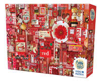 Cobble Hill: The Rainbow Project (Red) - 1000pc Puzzle