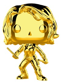 Marvel Studios - Black Widow Gold Chrome Pop! Vinyl Figure image
