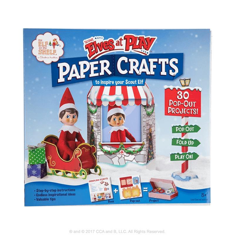 Elf on the Shelf: Elf Paper Craft Kit image