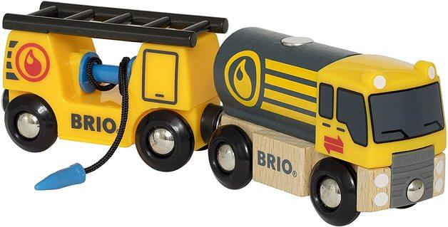 Brio: World - Tanker Truck with Hose Wagon