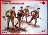 ICM: 1/35 British Infantry (1914) Model Kit