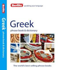 Berlitz Phrase Book & Dictionary Greek by APA Publications Limited