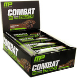 MusclePharm Combat Crunch Bars - Chocolate Cake (12 x 63g)
