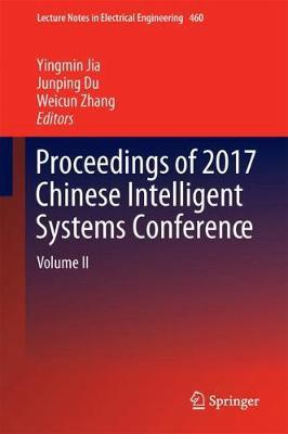 Proceedings of 2017 Chinese Intelligent Systems Conference image