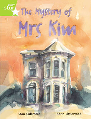 Rigby Star Guided Lime Level: The Mystery Of Mrs Kim Single by Stan Cullimore image