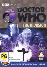 Doctor Who: The Invasion on DVD