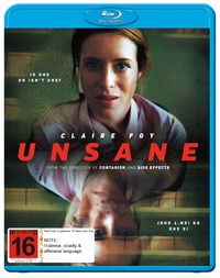 Unsane on Blu-ray