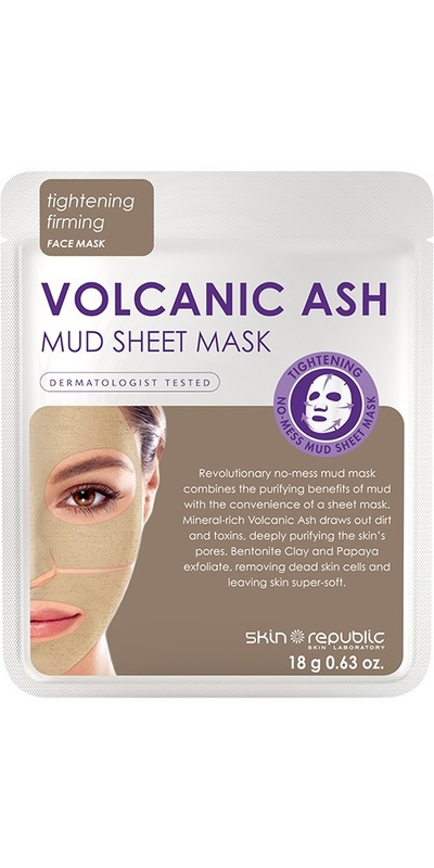 The Skin Republic: Volcanic Ash Mud Sheet Mask
