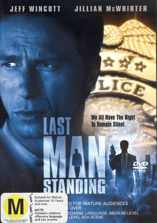 Last Man Standing on DVD image