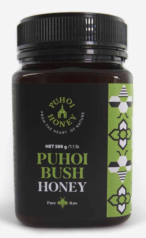 Puhoi Honey: Puhoi Bush Honey - Pure & Raw (500g)