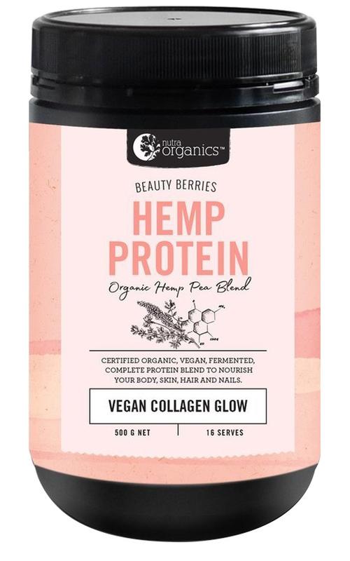 Nutra Organics Hemp Protein - Beauty Berries (500g)