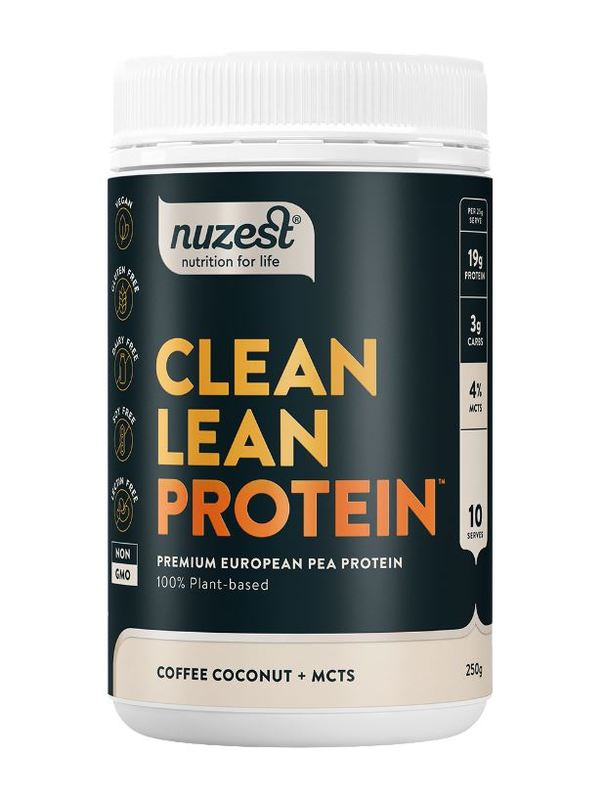Nuzest: Clean Lean Protein - Coffee Coconut & MCTs (250g)