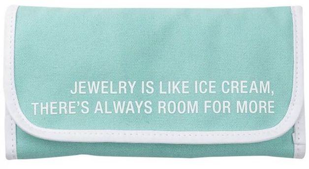 Say What: Jewellery Pouch - Ice Cream
