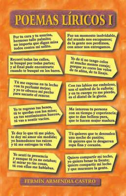 Poemas Liricos: No. 1 by Fermin Armendia Castro image