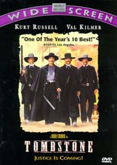 Tombstone on DVD