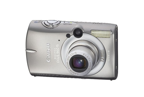 Canon IXUS 960IS 12.1Mp 3.7x Opt Digital Camera + 1Gb Memory Card image