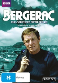 Bergerac - The Complete Fifth Series on DVD