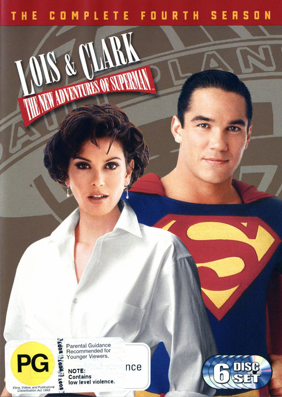 Lois & Clark: The New Adventures Of Superman Season 4 (6 Disc Set) on DVD