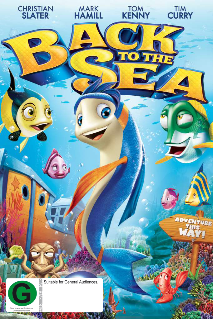 Back to the Sea on DVD image