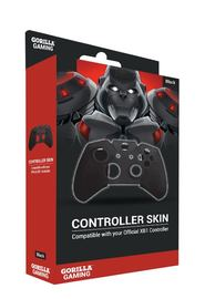 Gorilla Gaming Xbox One Controller Skin Black for Xbox One