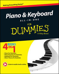 Piano and Keyboard All-in-One For Dummies by Consumer Dummies