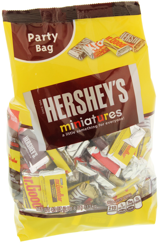 Hershey's Party Bag Assorted Miniatures 1.13kg