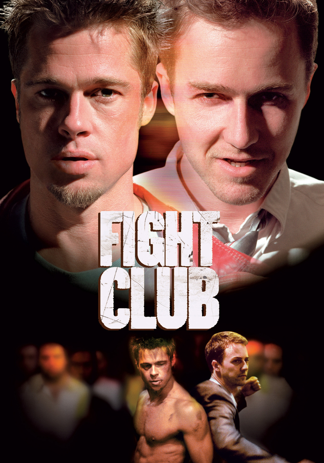 Fight Club (One Disc) on DVD image