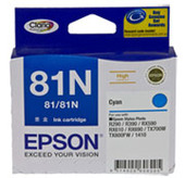 Epson Claria Ink Cartridge 81N (Cyan)